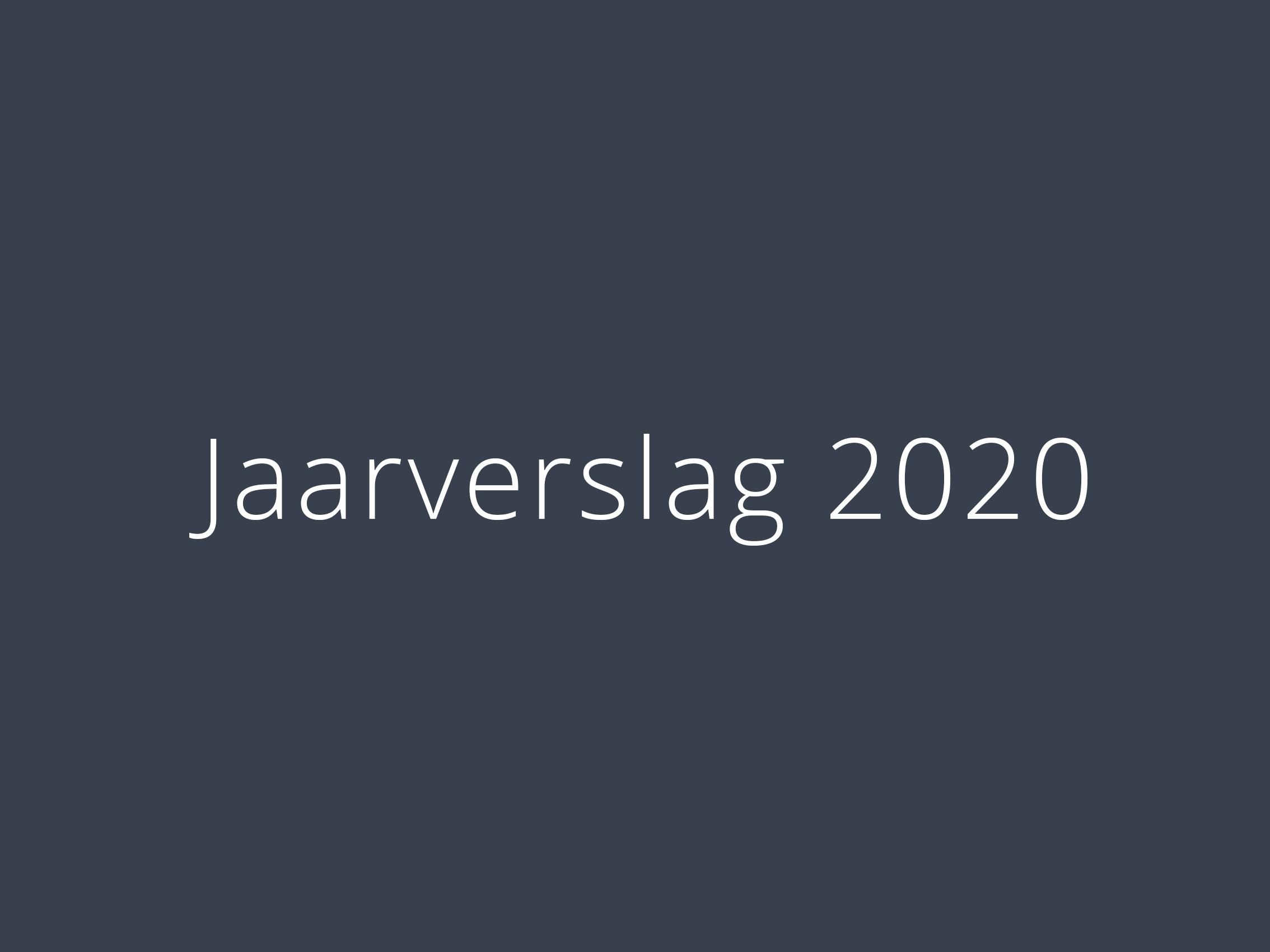 jaarverslag2020